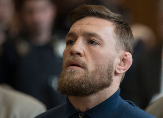 conor mcgregor charged assault whiskey punch