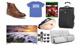 Daily Deals: $750 75-Inch TV, NBA2K20, Beer Belly Fanny Packs, 2 For $10 T-Shirts, 70% Off Furniture, Ralph Lauren Sale And More!