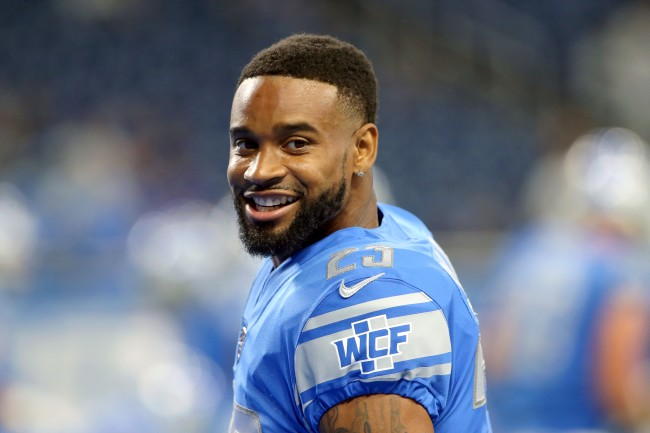 """Darius Slay reacts to the Lions not trading him by hilarious dropping a """"I'm a millionaire"""" to reporter"""