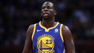 Draymond Green Explains Why It's 'Counterproductive' To Tell Athletes To Stop Playing Sports Right Now