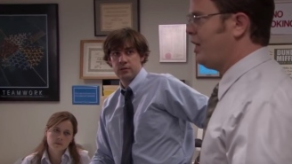 Rainn Wilson Remembers A Scene From 'The Office' Where Everyone In The Cast Broke With Laughter