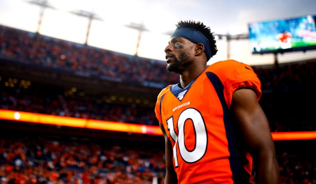 Emmanuel Sanders Could Play In 17 Games This Season After Trade