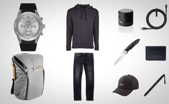 best everyday carry essentials black grey industrial