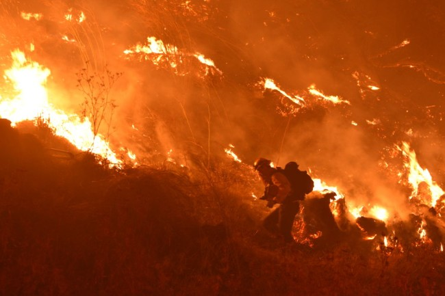 getty fire los angeles photos video