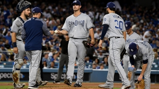 Padres Pitcher Jacob Nix Kicked In The Face,Tased, And Arrested After Trying To Crawl Through A Doggy Door