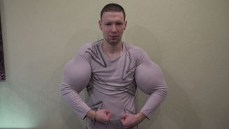 Russian Guy Known As 'Bazooka Arms' Lost An MMA Fight To An Old Blogger And The Video Is Something Else