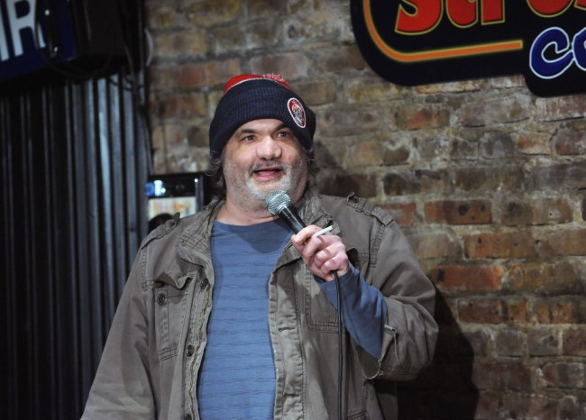Comedian fan from New Jersey moved to tears after telling story about t-shirt she gave to Artie Lange.