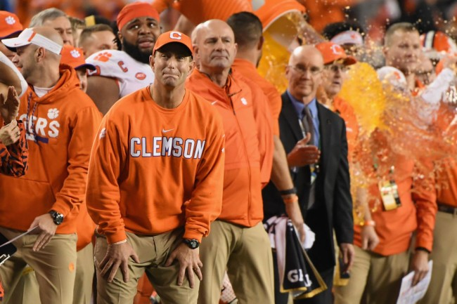 dabo swinney florida state should be undefeated