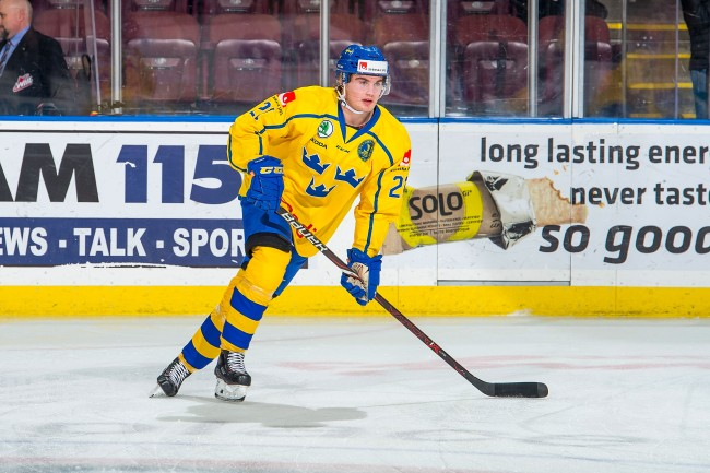 Nils Höglander Vancouver Canucks prospect The Michigan goal