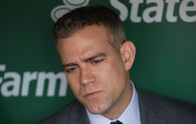 Theo Epstein dog Chicago Cubs President