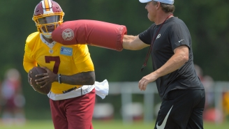 Redskins Coach Jay Gruden 'Did Not Want' Dwayne Haskins And Haskins Can Sense That, New Report Claims