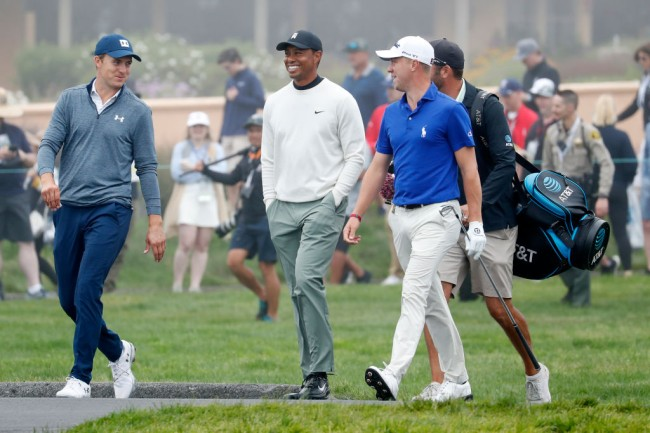 tiger woods idolized by players