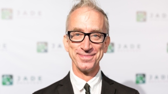 Andy Dick Gets Viciously Bodyslammed After Trying To Steal Food From An Uber Eats Driver [Video]