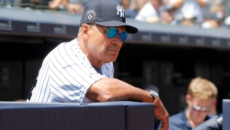Reggie Jackson Didn't Realize His Mic Was On And Dropped Multiple F-Bombs Talking About Giancarlo Stanton