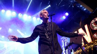 Aaron Carter Unveils New Neck Tattoo, Reveals 12-Year-Old Son With Pageant Queen, His Mom Says He's 'No Justin Bieber'