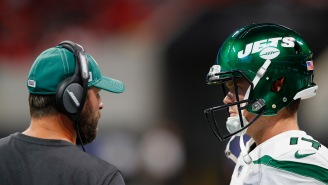 Jets Coach Adam Gase Is Pissed At ESPN For Airing Sam Darnold's 'I'm Seeing Ghosts' Comment On Monday Night Football