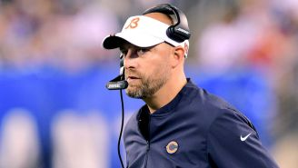 Matt Nagy Seems To Think The Media Could Possibly Worsen The Terrible Bears Offense And Mitch Trubisky