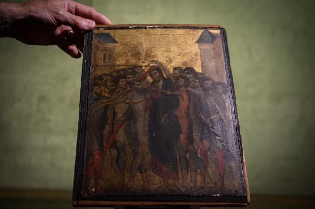 wrld record Cimabue painting medieval art