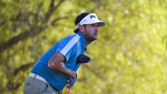 Bubba Watson Hits Ridiculous, Completely Sideways Tee Shot To Cut The Corner On Par 5 At The ZOZO Championship