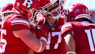 It Doesn't Look Like This Rutgers Quarterback Knows Just How Bad Rutgers Football Is
