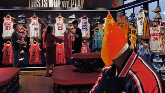 NBA Fans Booted From Sixers Game For Pro-Democracy 'Free Hong Kong' Signs