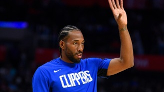 Kawhi Leonard Gets Loudly Booed In LA During Clippers 'Home' Opener Vs Lakers