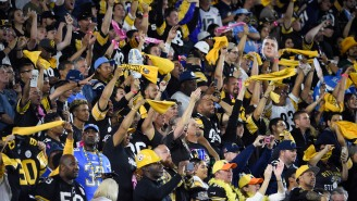 Steelers Fans Took Over The Chargers Stadium To The Point That The Chargers Hilariously Trolled Them On The Jumbotron