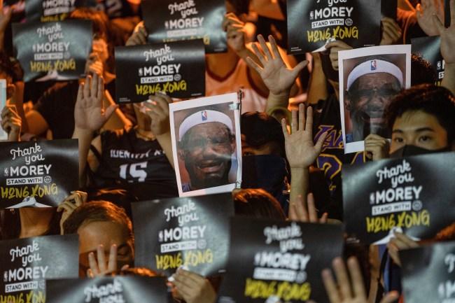 LeBron James Hong Kong Protestors