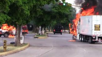 Terrifying Videos Show Gun Battles Erupt On Streets Of Mexico As El Chapo's Son Is Captured By Military