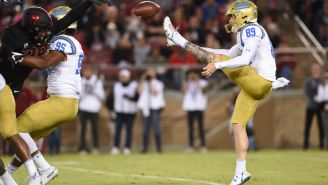 Pat McAfee Had An All-Time, Hilarious Broadcaster Jinx Before A UCLA Blocked Punt