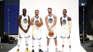 Klay Thompson Takes Funny Jab At Draymond Green's Shooting Struggles On D'Angelo Russell's Instagram Post