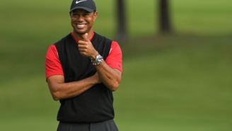 Tiger Woods Is Already Practicing Following December Back Surgery