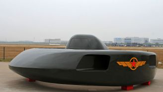 China Unveils New 400 MPH Stealth Attack Helicopter That Looks Exactly Like A Flying Saucer UFO