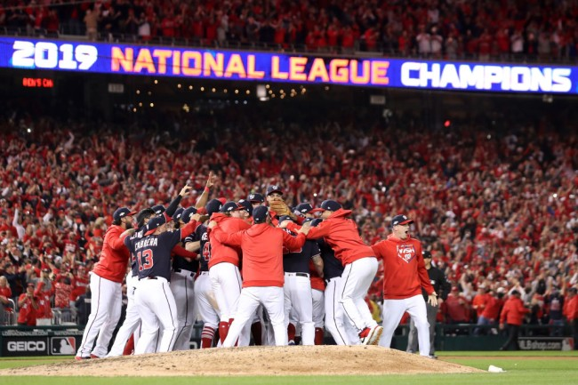 Bandwagon sports fan admits he only became a Washington Nationals fan after they won the National League Championship and punched their ticket to the World Series.