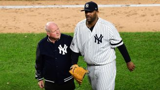 Joe Girardi Gets Very Emotional While Paying Tribute To CC Sabathia After Game 4 Exit
