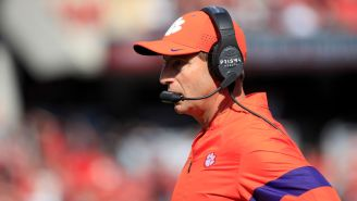 A Clemson Player Threw A Punch So Dabo Swinney Made Him Take A Bus Home From Louisville Instead Of Flying With The Team