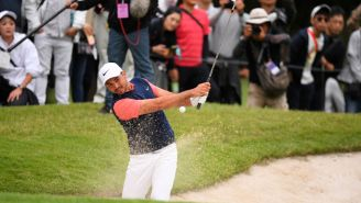 You Probably Didn't See Any Of The Japan Skins Match, But You Need To Watch Jason Day's Sand Save With Nothing But A 6-Iron