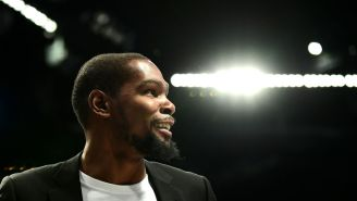 Kevin Durant Says He Sits On His Couch And Dreams Of Playing In Europe For A Season Before Retiring