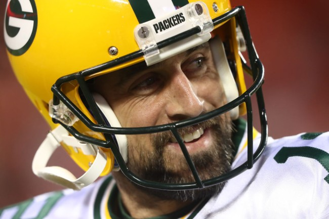 aaron rodgers td pass chiefs