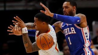 Sixers' Mike Scott Was Ejected For One Of The Softest Fouls You'll Ever See And Philly Fans Are Demanding Answers