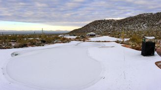 Montana Had To Play Its Golf State Championship In The Snow And It Looks Awesome Yet Awful All At The Same Time