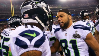 Percy Harvin Recalls Story About Punching Teammate Golden Tate In The Face Before The Super Bowl And Marshawn Lynch Coming To The Rescue
