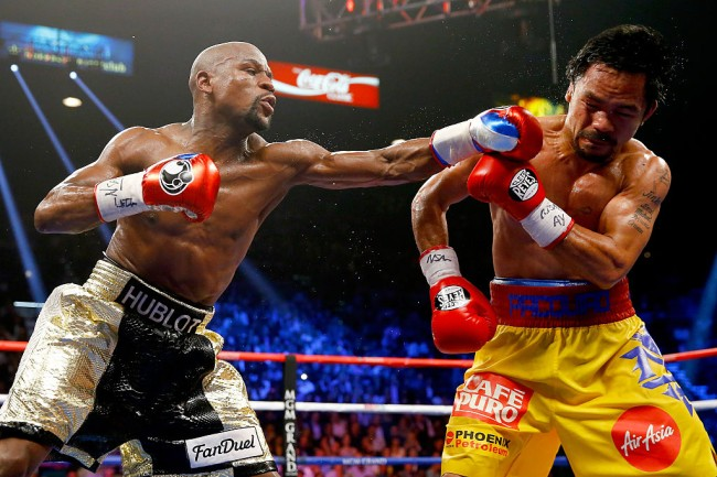 Manny Pacquiao in video of training Alibaba founder Jack Ma, China's richest man, challenging Floyd Mayweather to a fight, boxer dissed them