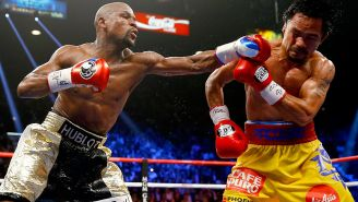 Floyd Mayweather Disses Manny Pacquiao And China's Richest Man After They Both Challenge Him To A Fight