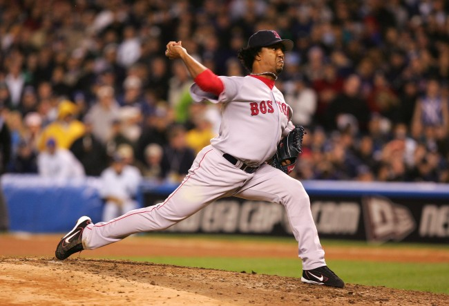 Pedro Martinez 2004 ALCS Red Sox
