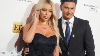 Aubrey O'Day Claims She Was Forced To Take Her Shirt Off 'In Front Of The Entire Plane' Because It Was 'Offensive'