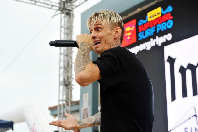 Tattoo artist Herchell Carrasco who inked Aaron Carter's face says he tried to talk the singer out of the huge Medusa tattoo.