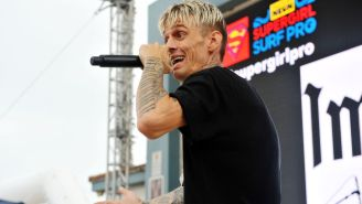 Aaron Carter's Tattoo Artist Tried To Talk Singer Out Of Huge Rihanna-Inspired Face Tattoo