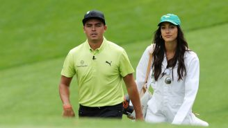 Rickie Fowler And Allison Stokke Are Casually Flying Around On Puma's Private Jet On Their Honeymoon