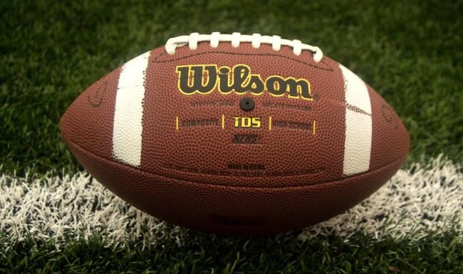 High School Football Player Tackles Teammate Running Interception Wrong Way